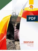 Erratum to the Shell Annual Report