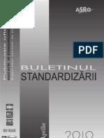 Buletin Standardizari 20aprilie 2010