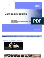 Compact Modeling IBM