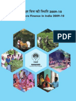 Nabard Micro Finance Report 2009-10