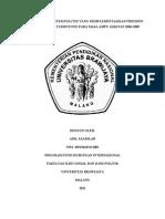 Analisa Sistem Politik Presiden SBY Masa Ampu 2004-2009