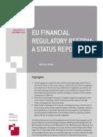 101209 Pc Nv EU Financial Regulatory Reform a Status Report