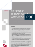101213 Pc Zd Jpf the Threat of Currency Wars a European Perspective
