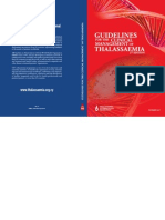 Guidelines for the Clinical Management of Thalassemia