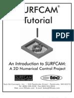 SURFCAM Tutorial Demo Booklet