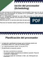 Administración del Procesador (scheduling) - Universidad Católica Andrés Bello