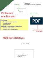 Cours6 - Problmes Diffrentiels Non-linaires