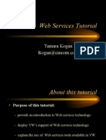 Web Services Tutorial