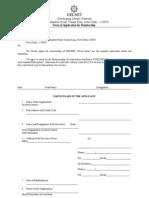 Delnet Application Form