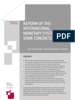 1103229 Reform of the International Monetary System