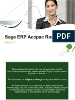 Sage Accpac Roadmap May 2011