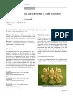 Cyclodextrin Derivatives and Cyclofructan as Ocular Permeation Enhancers