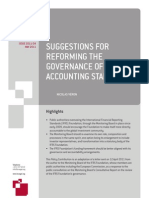 110512 NV Suggestions for Reforming the Governance of Global Accounting Standards