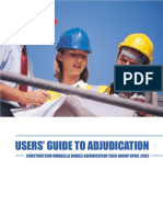 USERS' GUIDE TO ADJUDICATION
