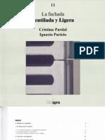 Pardal Y Paricio - La Fachada Ventilada Y Ligera