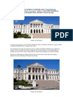 O Palácio de São Bento - Lisboa