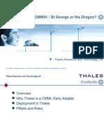 Agile   CMMI Summary