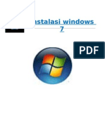 makalah teknik Instalasi Windows 7