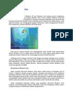 makalah teknik Instalasi Windows Vista
