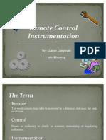 Remote Control instrumentation