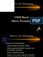 Metrics for Managing