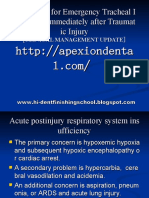 Guidelines for Emergency Tracheostomy