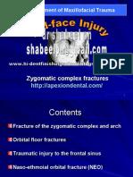 Zygomatico Frontal Fracture