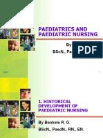1. 2 Historical Development of Paediatric Nursing
