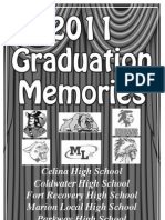 2011 Graduations Section