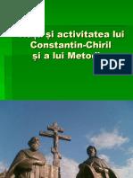 2. Viaţa şi activitatea lui Constantin-Chiril1