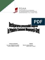 Monografie Primarie Mogosesti Siret 2009