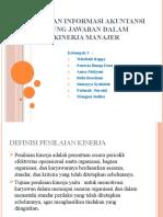 Penggunaan Informasi Akuntansi Pertanggung Jawaban Dalam Penilaian Kinerja