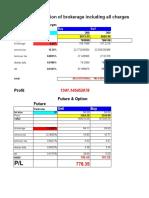Profit & Brokerage Calculator