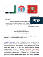 Newsletter  Amedeo Ciccanti