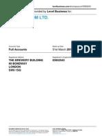 XLN TELECOM LTD.  | Company accounts from Level Business