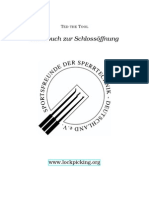 Handbuch zur Schlossöffnung