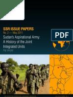Sudan's Aspirational Army