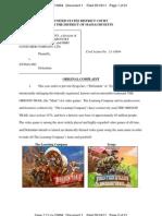 Learning Company v Zynga Complaint