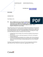 2011-77 Commission Letter Re CNOC Request for Merging Proceedings