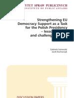 Strenghtening UE
