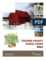 Oxford County Rural Guide 2011