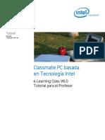 Tutorial E-Learning Class 6.0 Profesores