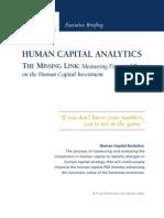 Human Capital Analytics
