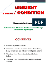 Kuliah 9 Transient Heat Conduction