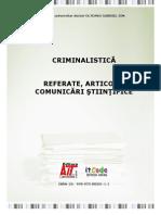 Criminal is Tic A - Referare Articole Comunicari Stiintifice