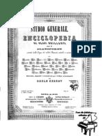 CZERNY - Studio Generale - Enciclopedia Di Passi Brillanti