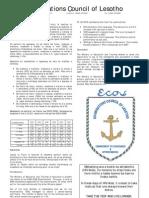 2008 COSC Pass List