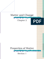Matter and Change Ch 2