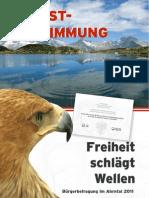 Selbstbestimmungsbroschüre 2011