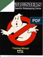 Ghost Busters RPG - Training Manual